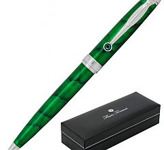 Ручка шариковая Flavio Ferrucci Tesoro Green Chrome FF-BP0512
