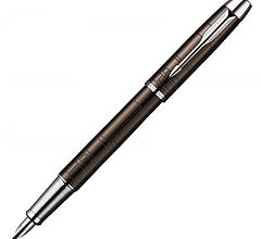 Ручка перьевая Parker IM Premium F222 Metallic Brown S0949710
