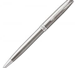 Ручка шариковая Parker Sonnet Core K526 Stainless Steel CT 1931512