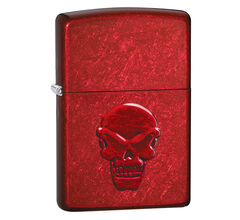 Зажигалка Zippo Doom Candy Apple Red 21186