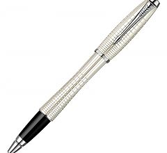 Ручка роллер Parker Urban Premium T204 Pearl Metal Chiselled S0911440
