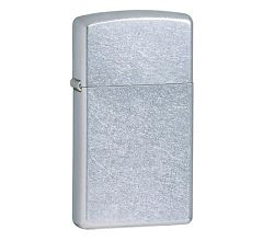 Зажигалка Zippo Узкая Slim Street Chrome 1607