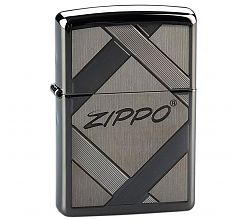 Зажигалка Zippo Classic Unparalleled Tradition Black Ice 20969