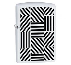 Зажигалка Zippo Classic White Matte 214 Abstract