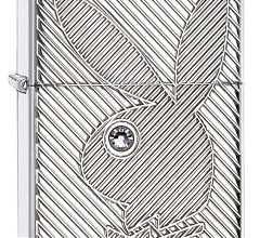 Зажигалка Zippo Armor Playboy Swarovski High Polish Chrome 28963
