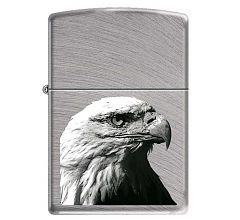 Зажигалка Zippo Classic Орёл Chrome Arch 24647 EAGLE HEAD