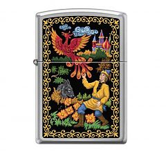 Зажигалка Zippo Classic Жар-Птица High Polish Chrome 250 REPLICA PALEKH