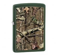 Зажигалка Zippo Classic Mossy Oak® Break Up Infinity Green Matte 28331