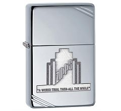 Зажигалка Zippo Vintage Series 1937 High Polish Chrome 28451