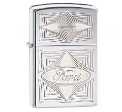 Зажигалка Zippo Ford High Polish Chrome 28625