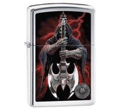 Зажигалка Zippo Anne Stokes High Polish Chrome 29109