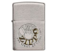 Зажигалка Zippo Classic The light of you life Brushed Chrome 29236