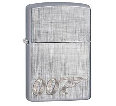 Зажигалка Zippo Classic James Bond Brushed Chrome 29562