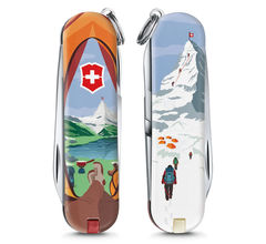 Нож-брелок Victorinox Classic Call of Nature, 58 мм, 7 функций 0.6223.L1802