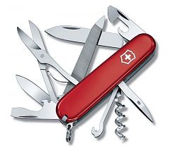 Швейцарский нож Victorinox Mountaineer, 91 мм, 18 функций, красный 1.3743
