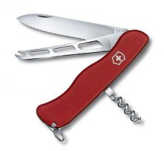 Швейцарский нож Victorinox Cheese Knife, 111 мм, 6 функций, красный 0.8833.W