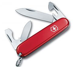 Швейцарский нож Victorinox Recruit, 84 мм, 10 функций, красный 0.2503